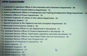 TNPSC Recruitment 2018: Recruiting 1199 Officers For Various Posts In TNPSC