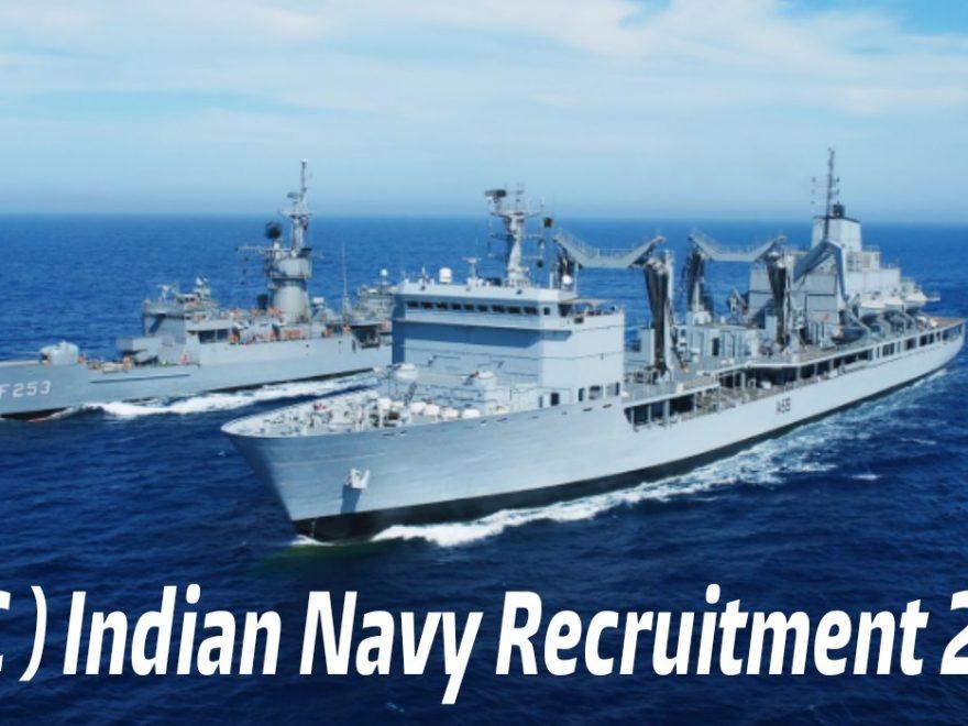 Indian Navy Recruitment 2018 - 115 Job Vacancies In Indian Navy