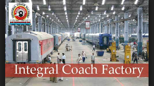 ICF Recruitment 2018 - Integral Coach Factory Recruiting 707 Candidates For various Jobs