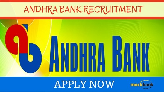 Andhra Bank Recruitment 2018 : Recruiting 20 Security Officers in Andhra Bank