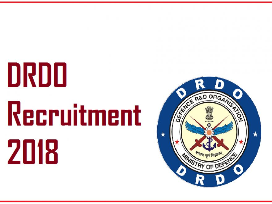 DRDO Recruitment 2018 : Recruiting 494 Senior Technical Assistant In Defence Department