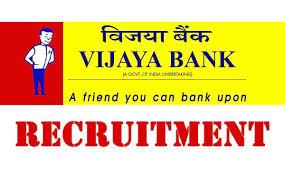 Vijaya Bank Recruitment 2018 : Recruiting 330 Probationary Officers In Vijaya Bank