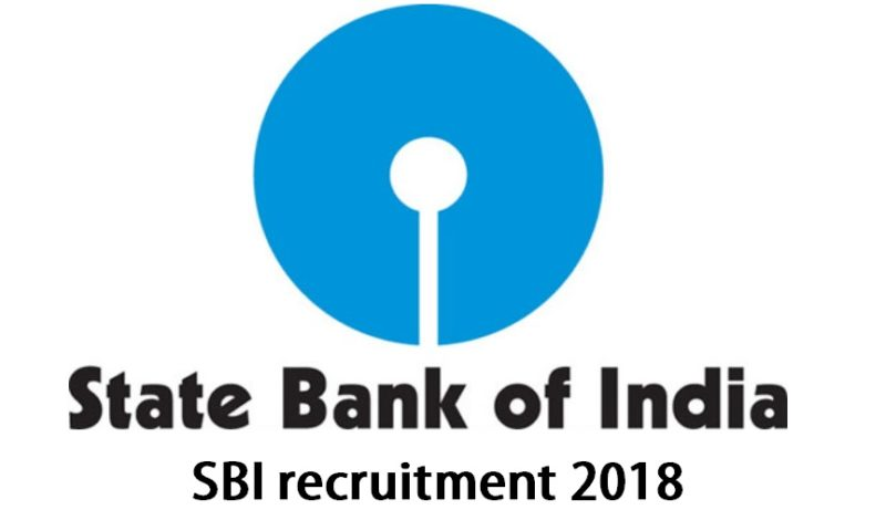 SBI Recruitment 2018 : Recruiting 39 Specialist Officers In State Bank Of India