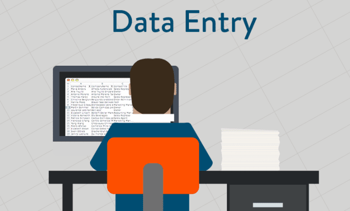Data Entry Operator : Copy Paste Jobs Salary 12K