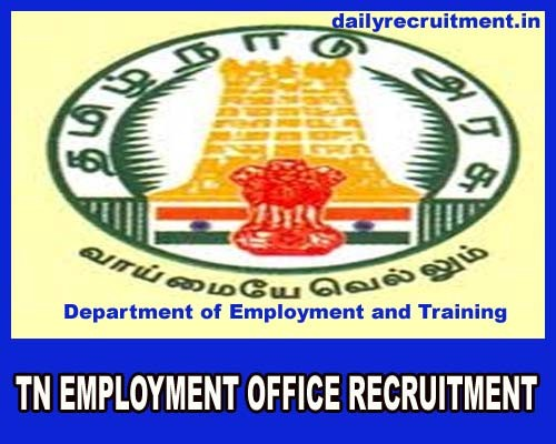 Employment Office Recruitment 2019 : here to apply