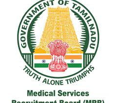 TN MRB Recruitment 2019 : 21 Assistant Surgeon