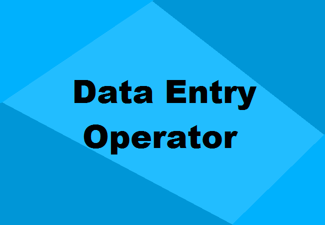 Recruiting Data Entry Operator : Part Time Job