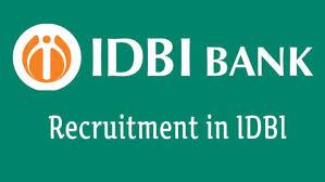 IDBI Recruitment 2019 : Manager Posts