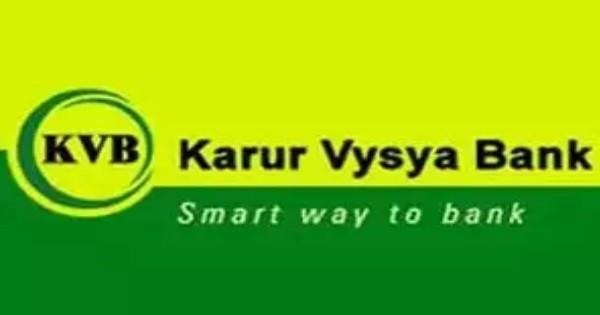 Karur Vysya Bank Recruitment 2019 : Apply Online