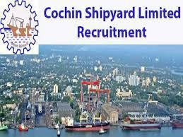Cochin Shipyard Recruitment 2019 : 40 Project Officers Posts