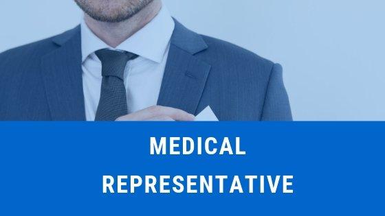 Looking For Medical Representative : Salary 20000