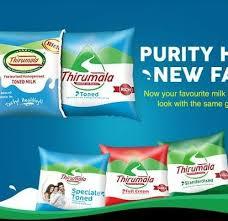 Sales Executive Job in Dairy Products : Thirumala Milk