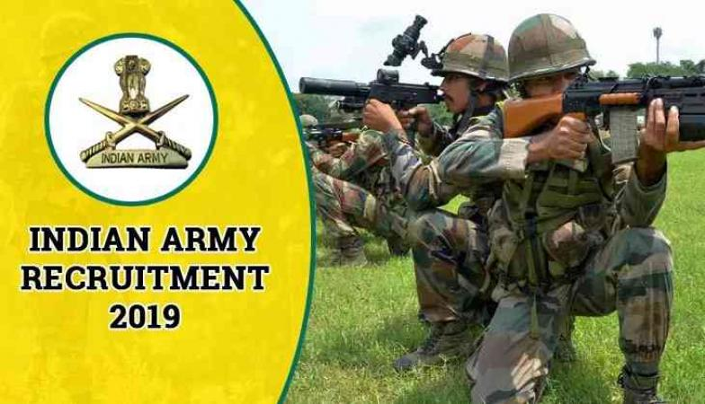 Indian Army Recruitment 2019 : Soldier Posts Apply Here