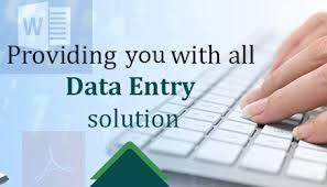 Offline Data Entry Job : Offline Typing Works Back Office Jobs