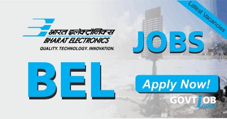 BEL Recruitment 2019 - Hiring Contract Engineers