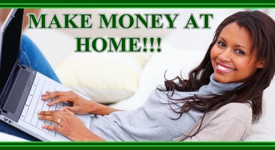 Earn Cash From Home - Home Based Online Jobs