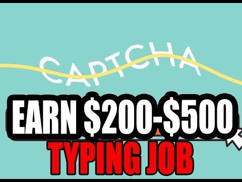 Just Type And Earn Job : Data Entry Job From Your Computer