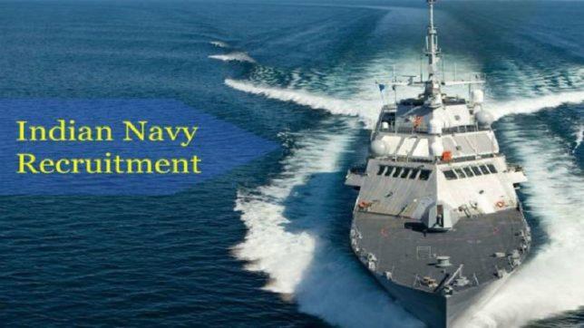 Indian Navy Recruitment 2019 - Recruiting 144 SSC Job