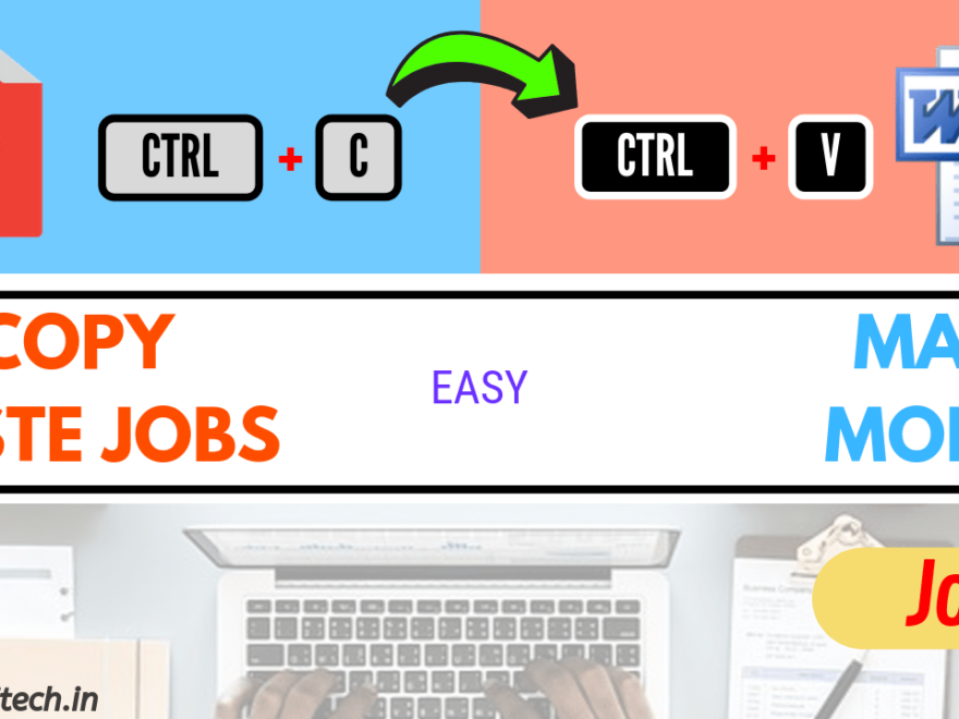 Easy Data Copy Job - Online Work From Home Jobs