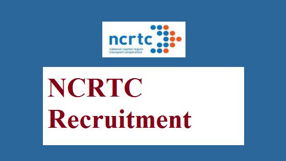 NCRTC Recruitment 2019 - Recruiting 40 Junior Engineers