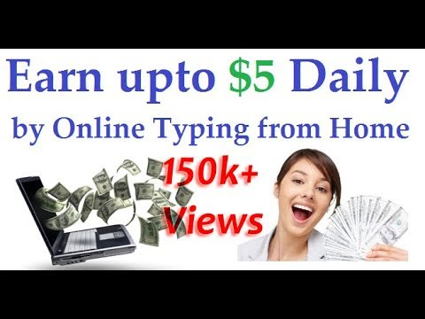 Easy Earning From Typing Job Salary Rs30000 Per Month