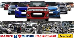 Maruti Suziki Recruitment 2020 - Various Job Vacancies