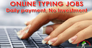 English Typing Job - Online Data Entry From Home