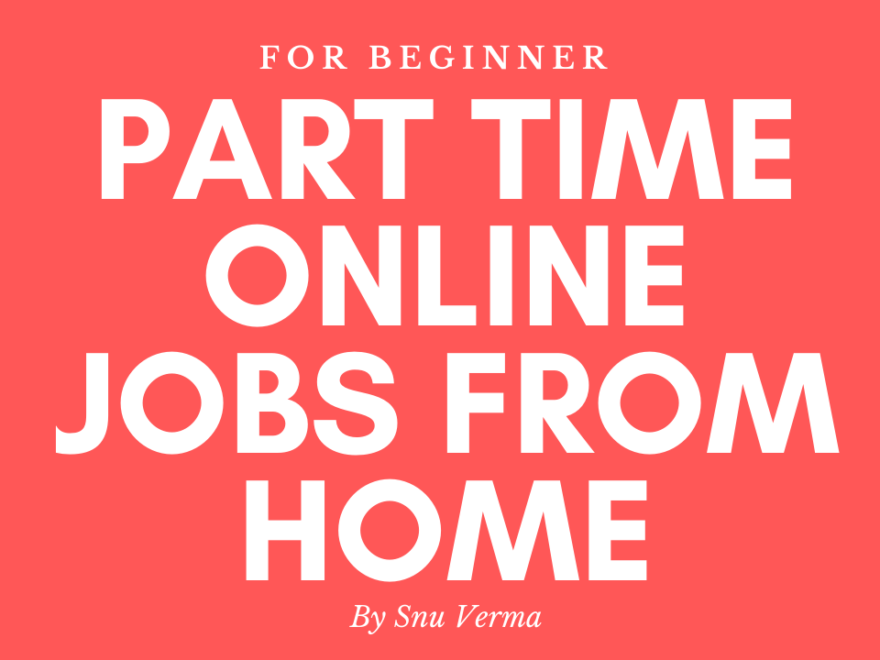 Online Earning Opportunity - Easy Online Jobs From Home