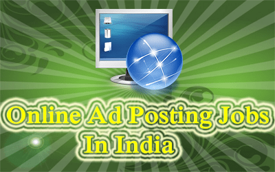 Ad Posting Online Data Entry Job - Salary Rs 25000