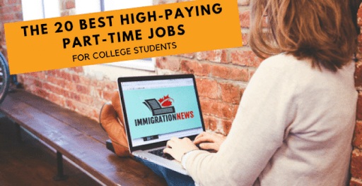High Paying Part Time Job For College Students - Apply Here