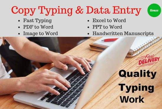 Invited For Typing Work - Home Based Data Entry Work