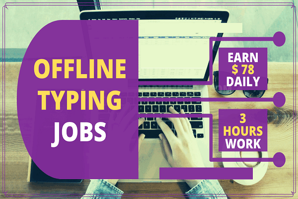 Do Typing Work And Earn Money From Home - Apply Here